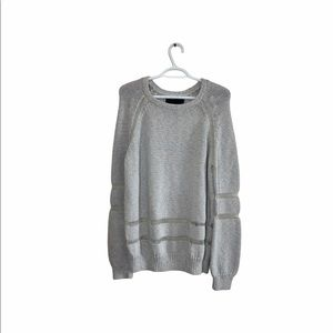 NWT Line Sweater ( with flaws)